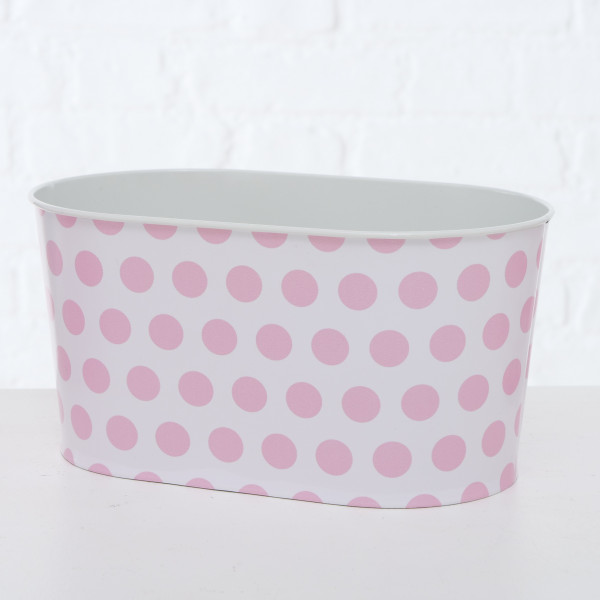 PFLANZTOPF MARIE 12CM ZINK PINK BOLTZE
