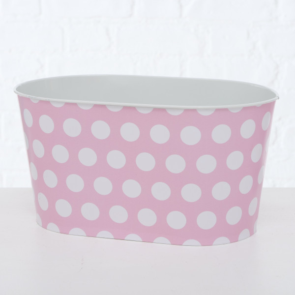PFLANZTOPF MARIE 14CM ZINK PINK BOLTZE